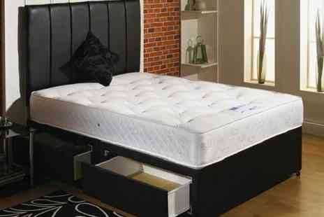 Restwell Beds - Orthomedic Divan with Orthopaedic Mattress and Headboard - Save 78%