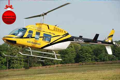 Elite Helicopters - Ten minute helicopter flight - Save 34%