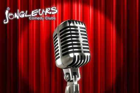 Jongleurs Comedy Club - Entry for One  to Jongleurs including mulled wine, canapés and club entry - Save 69%