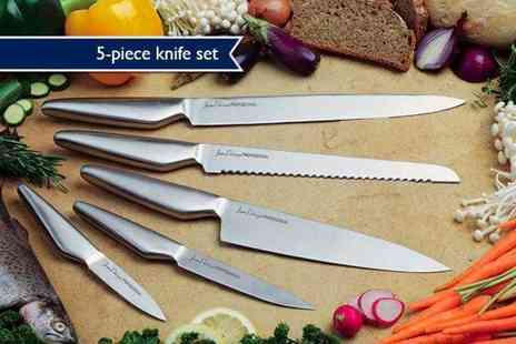 Direct Response - Five piece stainless steel culinary set - Save 92%
