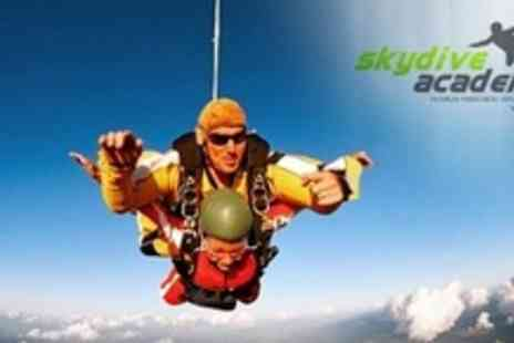 Skydive Academy - Static Line Parachute Jump - Save 52%