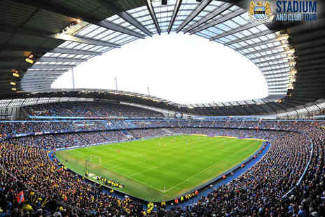 Manchester City Football Club - Tour with Souvenir Photo for Two  - Save 50%