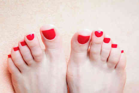 Bristoliana Beauty - Gelish Manicure or Pedicure or Both or Full Set of Eyelash Extensions - Save 54%