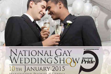 Phones 4U Arena - Two Tickets to The National Gay Wedding Show - Save 62%