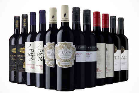 Sunday Times Wine Club - Choice of 12 Bottles of Wine  - Save 52%
