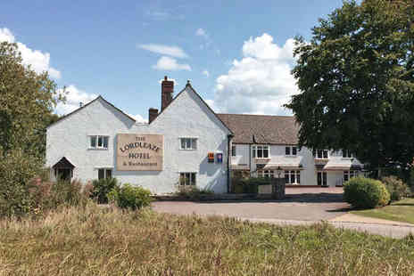 The Lordleaze Hotel - One Night Somerset Hotel Break with Breakfast Daily and Bottle of Wine on Arrival - Save 51%