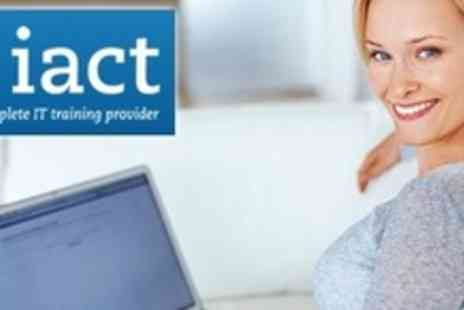 IACT - One Microsoft Courses From Choice of Powerpoint, Excel, Word or Outlook - Save 88%