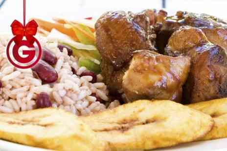 Cummin Up - Caribbean Meal With Sides For Two  - Save 50%