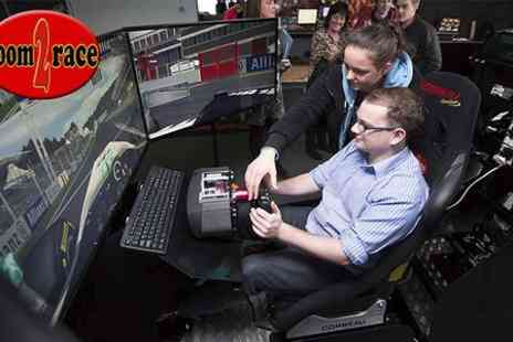 Room2Race - 60 Minute Triple Screen Racing Simulator Experience - Save 20%