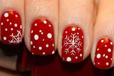 Midas Touch - Two Hour Festive Nail Workshop For One - Save 80%
