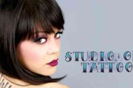 Studio One Tattoos - One Hour of Tattoo Time - Save 61%