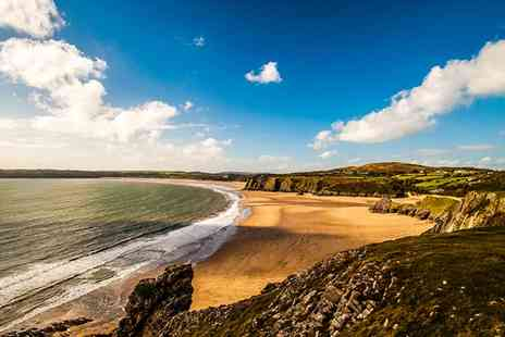 Blas Gwyr - Two nights stay in the Gower peninsula with breakfast plus wine - Save 58%