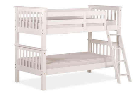 Amani International - Oxford Solid Pine Bunk Bed - Save 61%