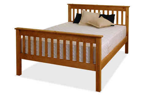 Amani International - Somerset Solid Pine Bed - Save 67%