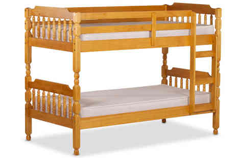 Amani International  - Colonial Solid Pine Bunk Bed - Save 61%