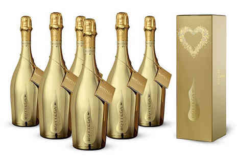 Italiana Choice - 6 Bottles of Gold Bottega Prosecco - Save 41%