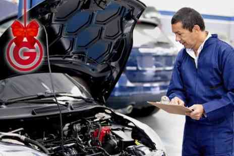 BOS VIP Consultants - Oil Change, Mechanical Inspection and Diagnostic Package With Discounted MOT Tests - Save 92%