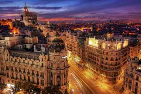 Tryp Madrid Washington Hotel - One Night stay For Two Plus Breakfast  - Save 0%