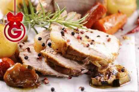 The Mount Pleasant Carvery - Two Course Carvery Meal With Wine For Two - Save 55%