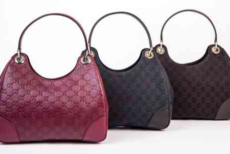 Groupon Goods Global GmbH - Ladies GUCCI Designer Hobo Handbag - Save 0%