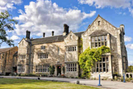 Monk Fryston Hall Hotel - One Night Tranquil Vale of York Countryside Dining Break for Two - Save 44%