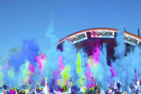 The Color Vibe  - 5K Colour Vibe Fun Run Entry - Save 34%