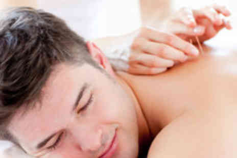 Herbal Inn - Massage and Acupuncture Session with a Box of Speciality Herbal Tea - Save 61%
