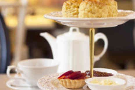 The Greyhound Hotel - Afternoon Tea with Prosecco for Two  - Save 50%