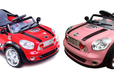 Turborevs Ltd - 12v Ride On Electric Mini Cooper Car & Remote - Save 47%