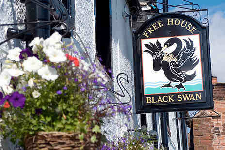 The Black Swan Inn - Two night B&B stay for two enjoy an exquisite breakfast each day  - Save 50%