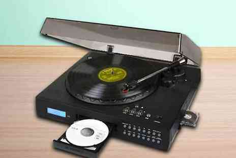 UK Surplus Central - Vinyl Turntable CD Burner - Save 50%