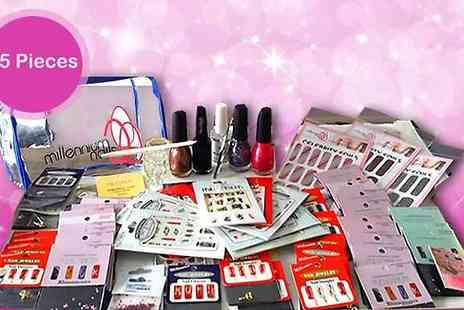 Vivre International -  65 Piece Nail Art Set  - Save 89%