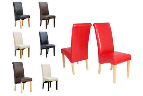 Sonic Online - Choice of Two Cambridge Dining Chairs - Save 64%