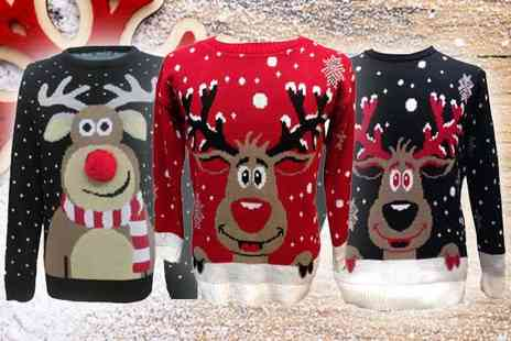 16 Sixty - A Choice of Festive Christmas Jumpers - Save 71%