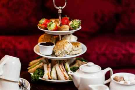 The Academy - Afternoon Tea for 2 with Bubbly in Bloomsbury Townhouse - Save 43%