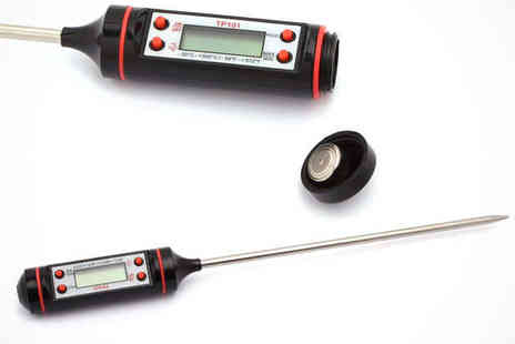 Avenre public - Cordless Meat Thermometer - Save 74%