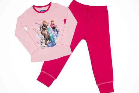 Fancy Suits - Disney Frozen Kids Pyjamas in a Choice of Colours  - Save 50%