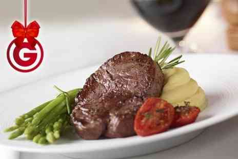 Abari Restaurant - Two Course Steak Meal With Wine For Two - Save 58%