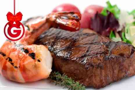 At 28 Asian Cuisine Restaurant -  Surf and Turf or Steak and Bird Meal For Two  - Save 0%