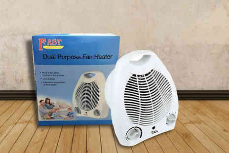 Online goods - Portable Fan Heater - Save 80%