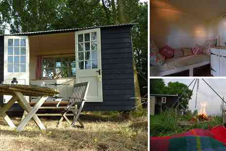 The Original Hut Company - 2 night midweek stay in a shepherds' hut in Bodiam - Save 47%