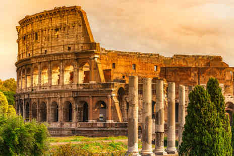 Major Travel - Two night 4 star Rome break with breakfast, return flights and sightseeing tour - Save 22%