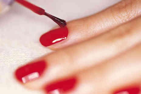 ME beauty - Vinylux File and Polish Full Body Spray Tan  or Luxury Facial - Save 50%