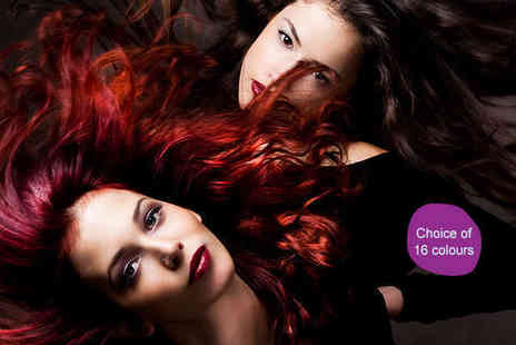 "Clip In Hair Extensions - 18"" 100% Remy Human Hair Extensions in Choice of 16 Colours - Save 85%"