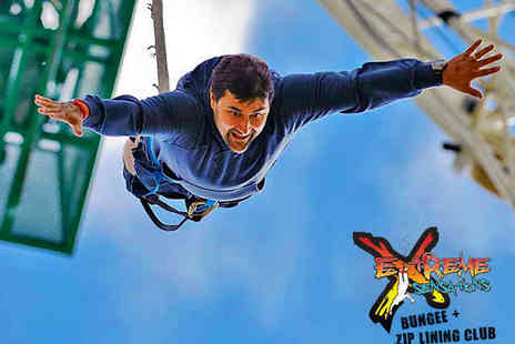Extreme Sensations - 175 fit Bungee Jump for One - Save 40%