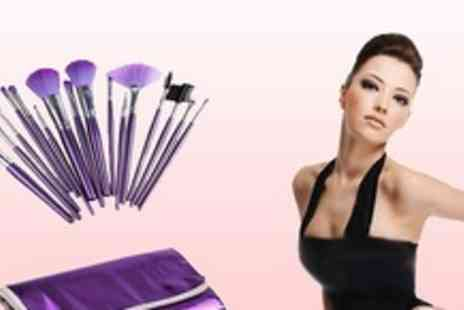 Vivacity Stores - Natural hair Make up Brush Set for that Sophisticated Make up Perfection - Save 64%