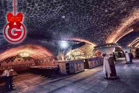 Medieval Banquet - Medieval Banquet For Two With Four Course Dinner, Ale and Wine Throughout, and a Jug of Winter Pimms  - Save 37%