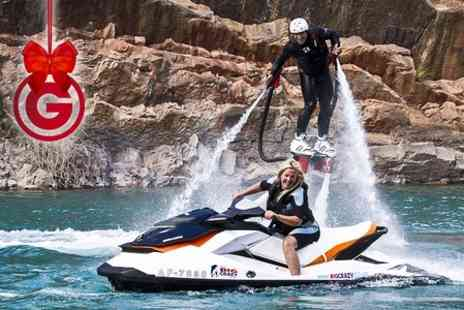 Big Crazy - Flyboarding or Hoverboarding For One   - Save 66%