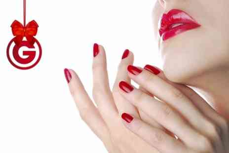 Maariyas Beauty Secret & Spa - Shellac Manicure Plus Pedicure  - Save 52%