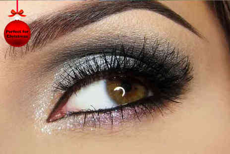 The Academy of Make up & Beauty - Four hour All About Eyes makeup class including free goody bag  - Save 75%